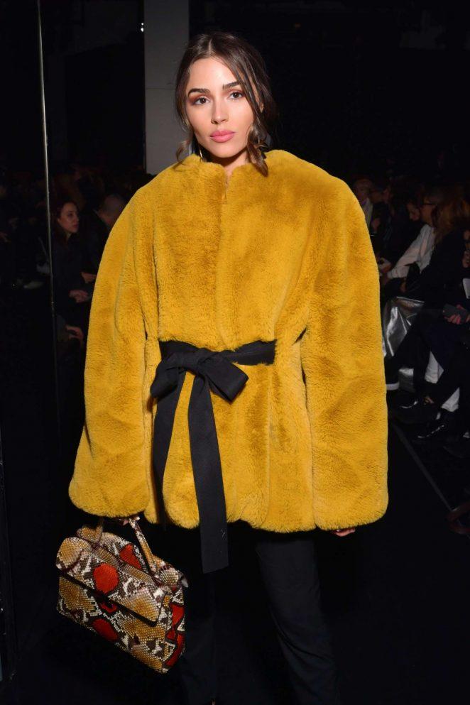 Olivia Culpo - Lanvin Fashion Show 2018 in Paris