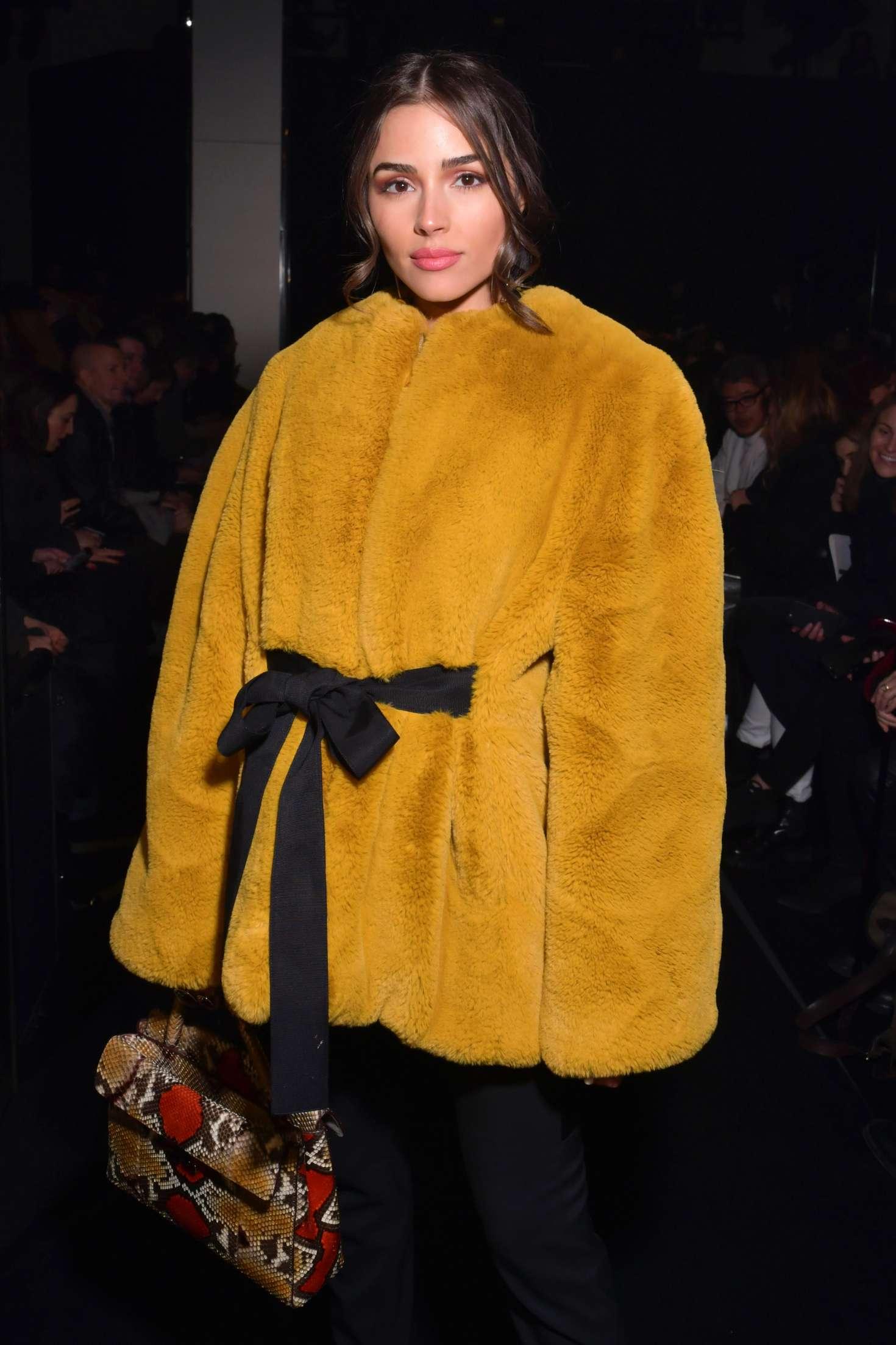 Olivia Culpo 2018 : Olivia Culpo: Lanvin Fashion Show 2018 in Paris -04