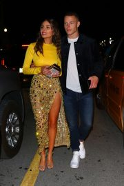 Olivia Culpo - Leaves a date night at Prime One Twelve in Miami