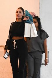 Olivia Culpo - Leaves a dermatology clinic in Los Angeles