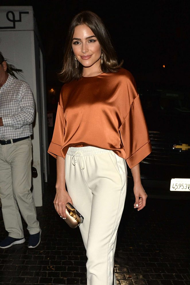 Olivia Culpo - Leaves a Party for Elizabeth and James Store in Los Angeles
