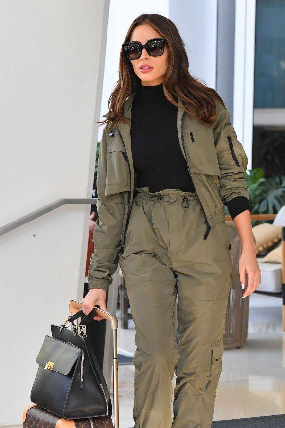 Olivia Culpo - Leaves her hotel in Miami Beach