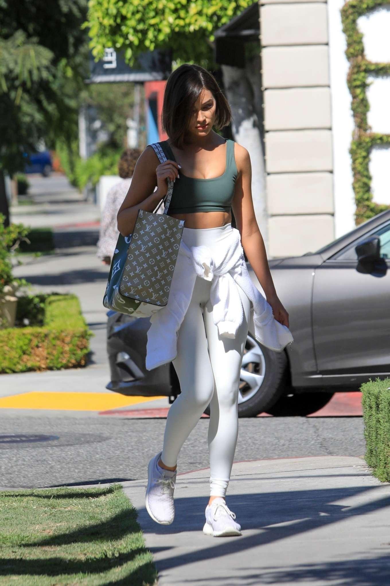 Olivia Culpo 2019 : Olivia Culpo – Leaving a hair salon in West Hollywood-06