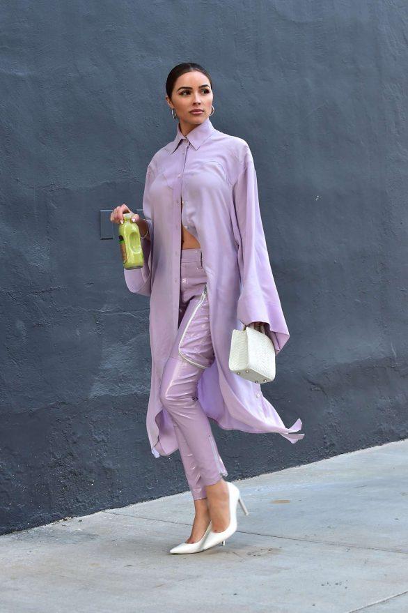 Olivia Culpo - Leaving a meeting in Santa Monica