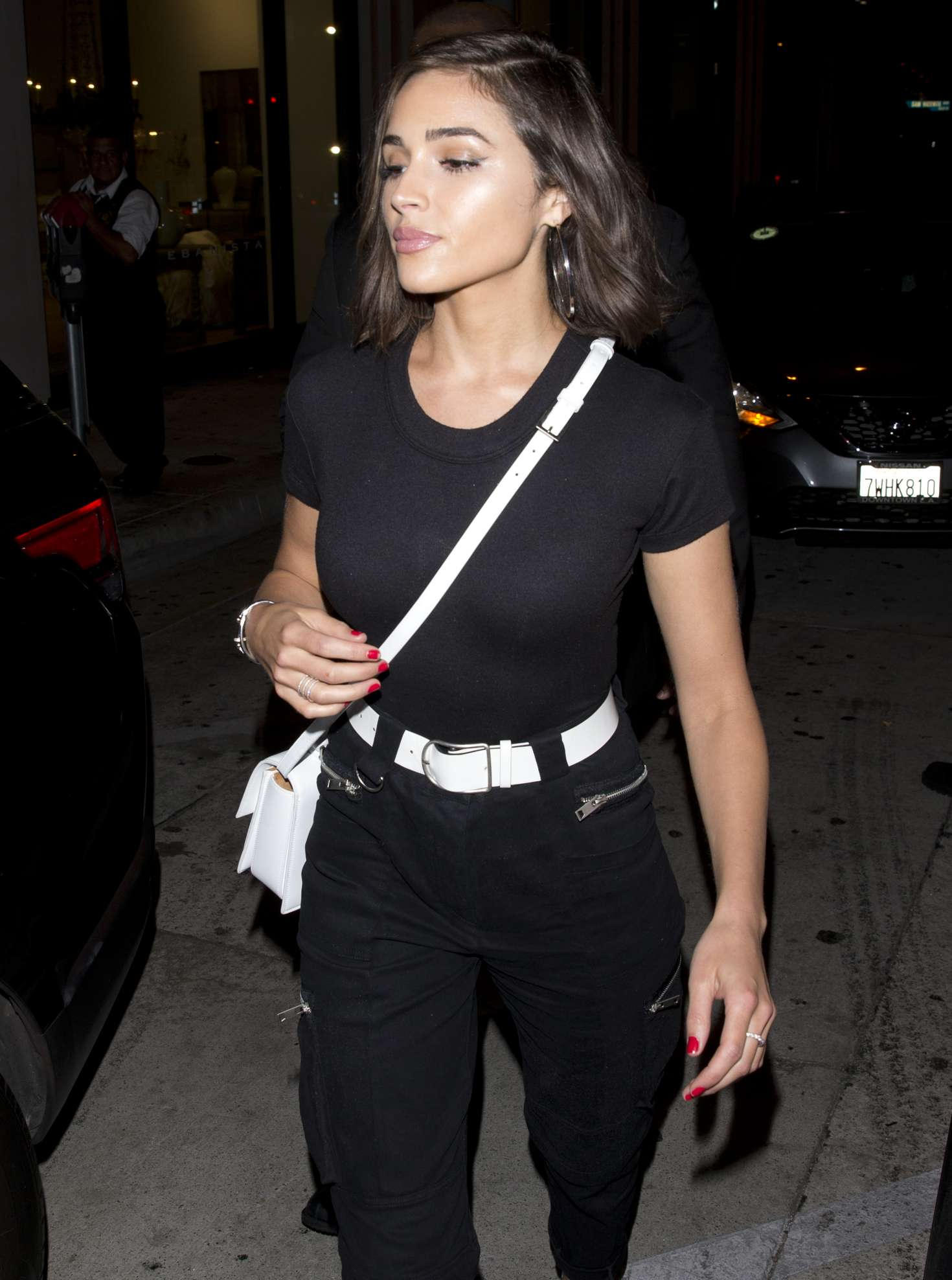 Olivia Culpo – Leaving Catch Restaurant in West Hollywood