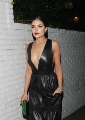 Olivia Culpo Leaving Chateau Marmont in Los Angeles
