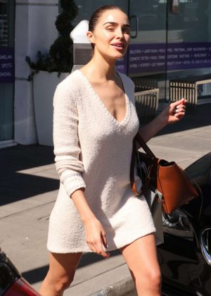 Olivia Culpo - Leaving Nurse Jaime Beauty Salon in Santa Monica