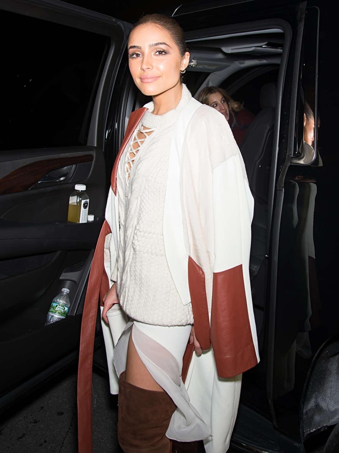 Olivia Culpo 2016 : Olivia Culpo: Leaving Prabal Gurung 2016 Fashion Show -05