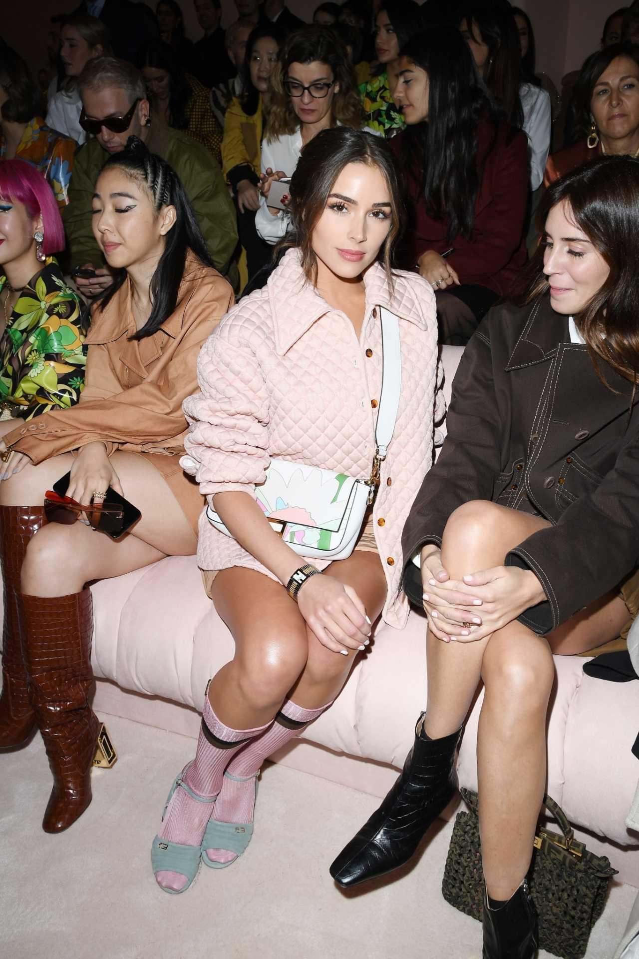 Olivia Culpo 2020 : Olivia Culpo – Looks stylish at Fendi fashion show in Milan-02