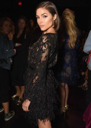 Olivia Culpo - Marchesa show at New York Fashion Week