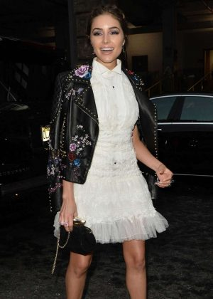 Olivia Culpo - Marchesa SS 2017 Fashion Show in NYC