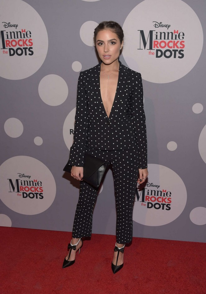 Olivia Culpo - Minnie Mouse Rocks The Dots Art And Fashion Exhibit in Los Angeles