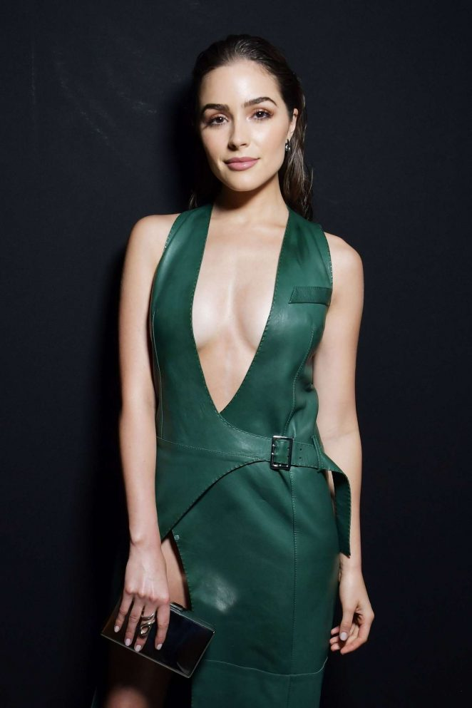 Olivia Culpo - Mugler Show at 2017 PFW in Paris