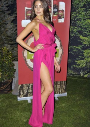 Olivia Culpo - Old Spice Fresher Collection Launch in NYC
