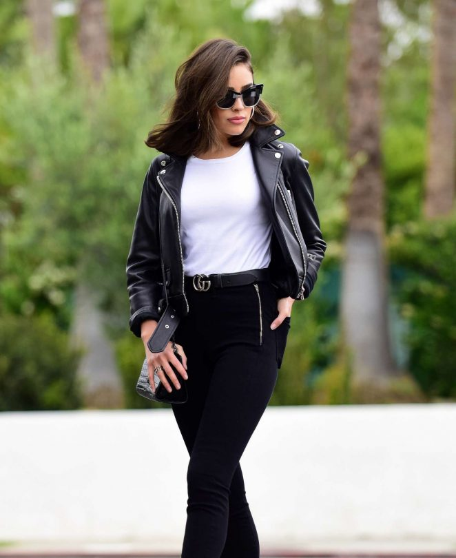 Olivia Culpo on a 'BTS' photoshoot in Hollywood