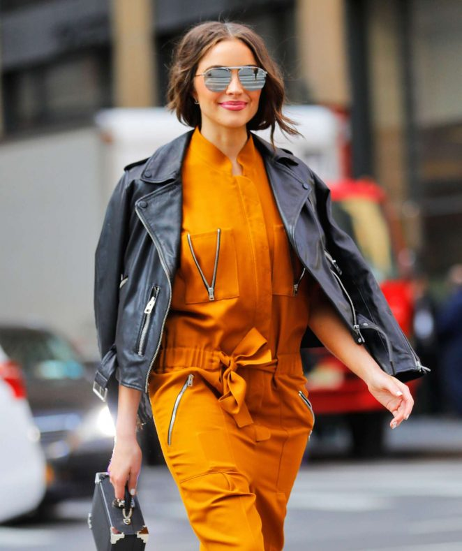 Olivia Culpo - Out and about in New York