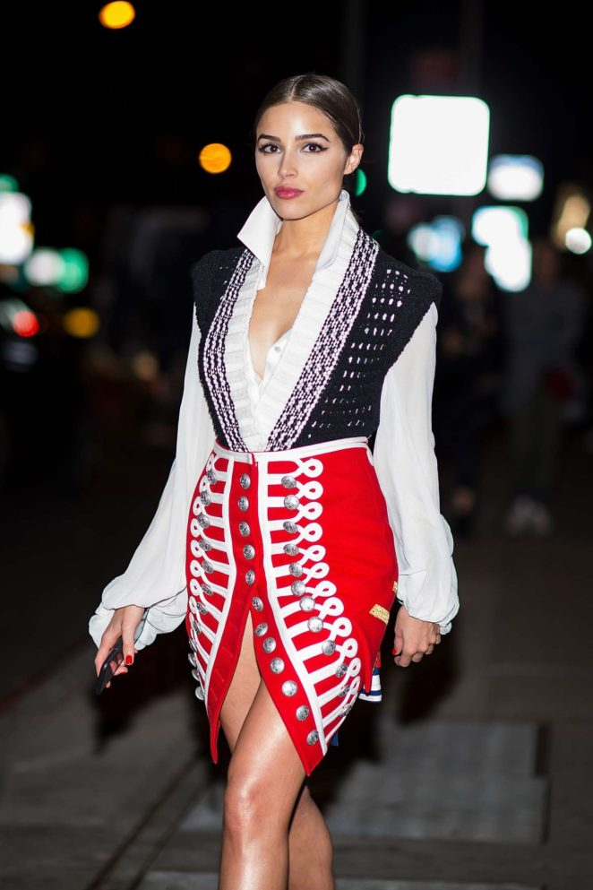 Olivia Culpo - Out and about in NYC