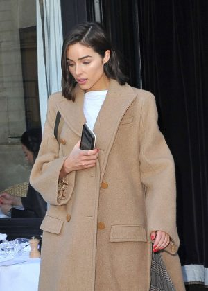 Olivia Culpo - Out and about in Paris