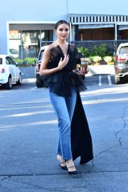 Olivia Culpo - Out for a coffee in Beverly Hills