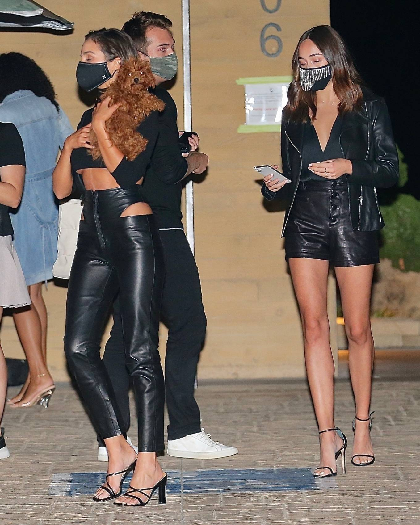 Olivia Culpo - Out for a dinner with friends at Nobu in Malibu