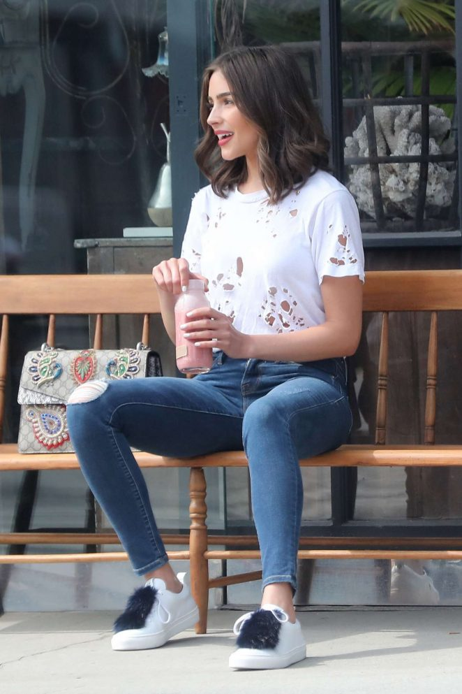 Olivia Culpo out in Brentwood