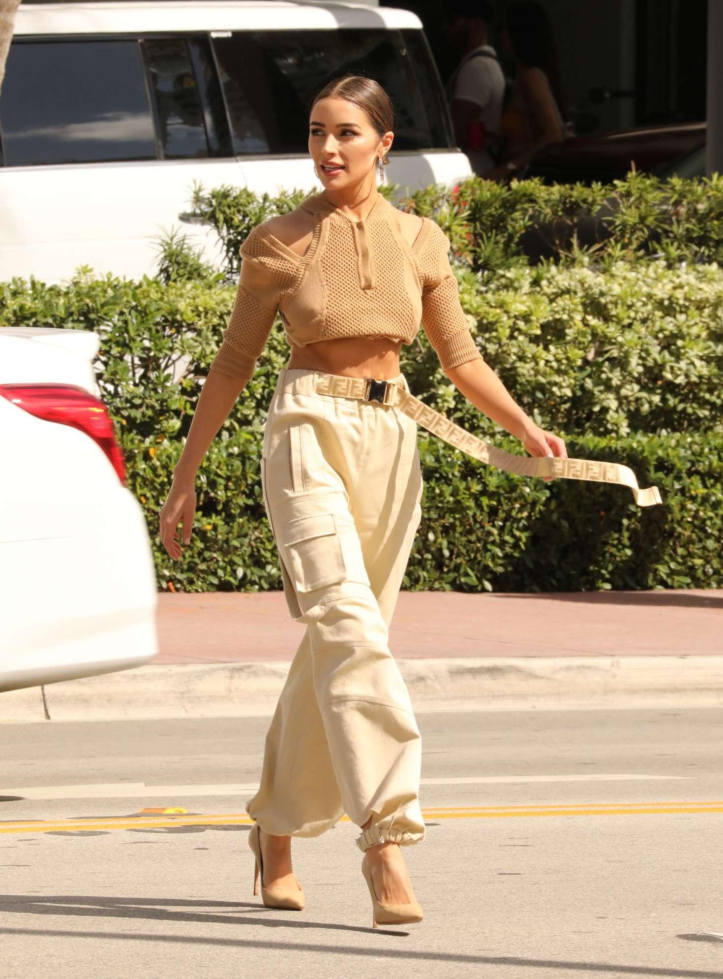 Olivia Culpo - Out in Miami