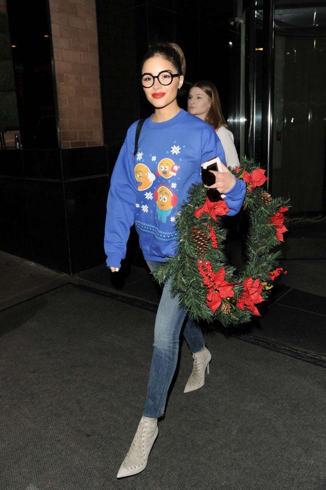 Olivia Culpo out in NY