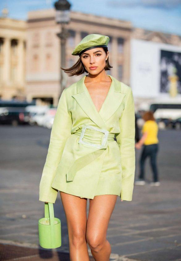 Olivia Culpo - Out in Paris