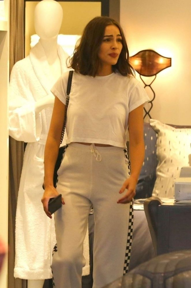Olivia Culpo out shopping in Beverly Hills