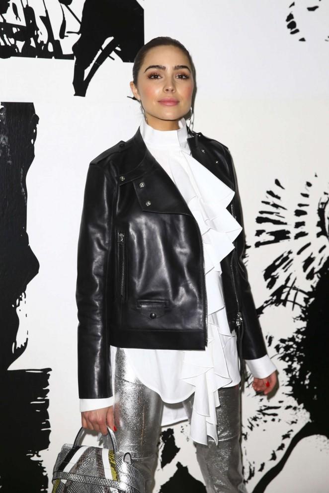 Olivia Culpo – Paul and Joe Fashion Show 2016 in Paris