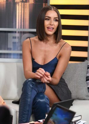 Olivia Culpo - Promotes 'Model Squad' at Good Day in New York City