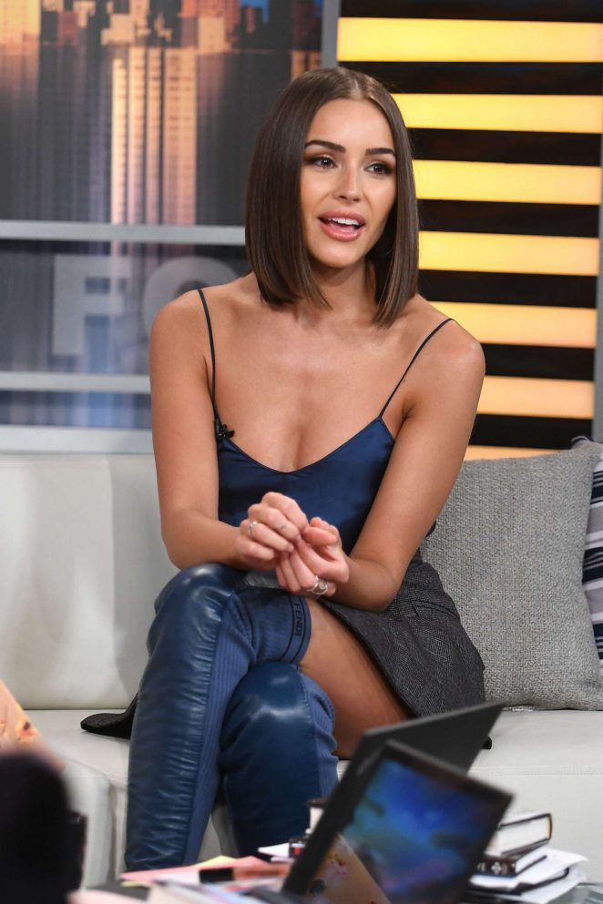 Olivia Culpo – Promotes 'Model Squad' at Good Day in New York City