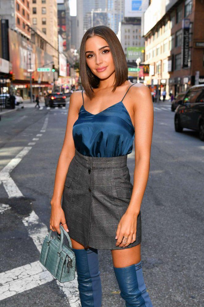 Olivia Culpo - Promotes the new series 'Model Squad' in New York