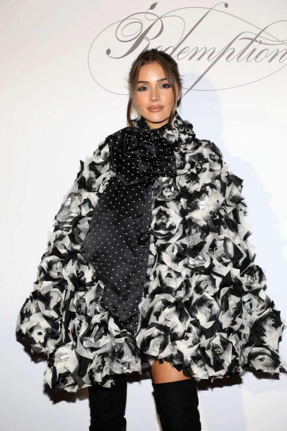 Olivia Culpo - Redemption Womenswear SS 2020 at Paris Fashion Week