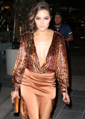 Olivia Culpo - Revolve Winter Formal Event in Los Angeles