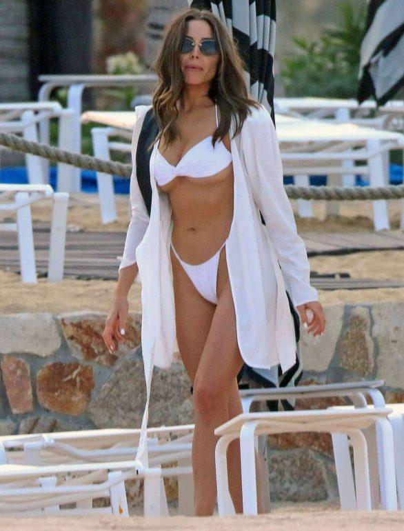 Olivia Culpo - Seen At a Beach in Mexico