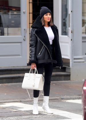 Olivia Culpo - Shopping at Alexander Wang in Soho
