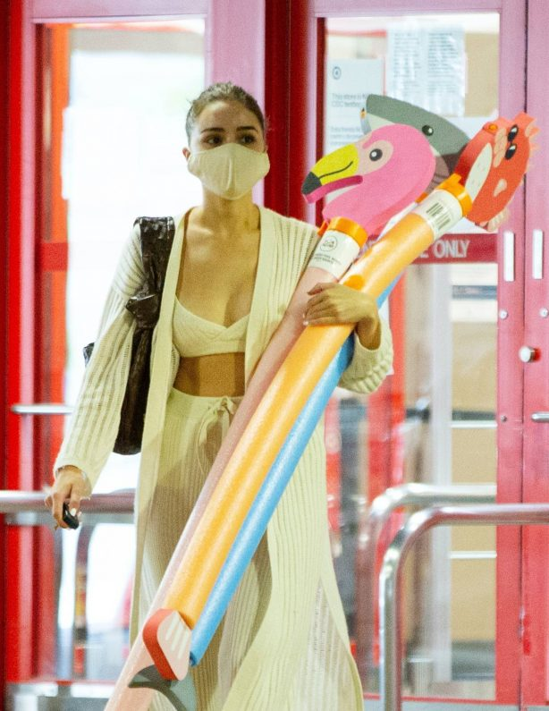Olivia Culpo - Shopping at Target in Los Angeles
