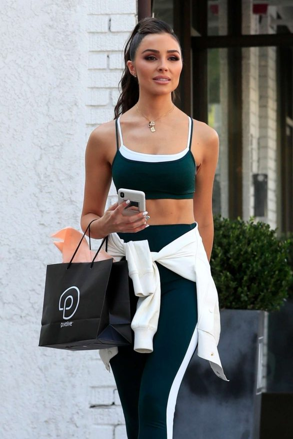 Olivia Culpo - Shopping in West Hollywood