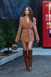 Olivia Culpo - Shops for a Christmas Tree in Los Angeles