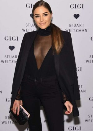 Olivia Culpo - Stuart Weitzman's Launch to promote Gigi Boot in NYC