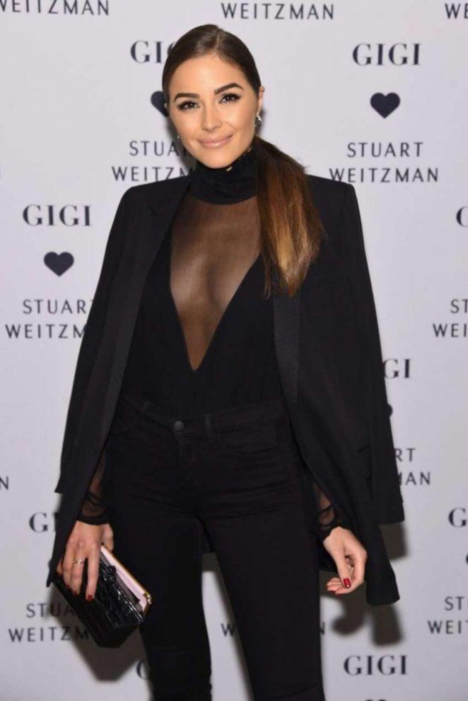 Olivia Culpo - Stuart Weitzman's Launch to promote Gigi Boot in NYC