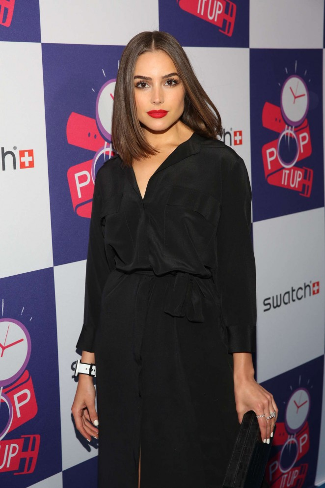 Olivia Culpo - The Swatch: A Night of Pop and Store Opening in NYC