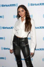 Olivia Culpo - Visiting SiriusXM Studios in New York
