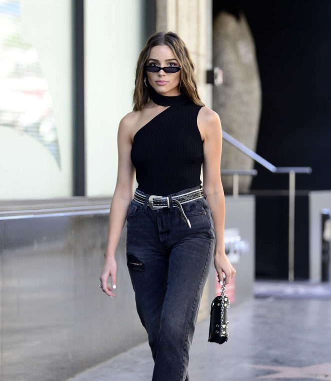 Olivia Culpo – Walking The Hollywood Walk of Fame in Los Angels