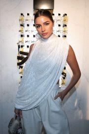 Olivia Culpo - Yves Saint Laurent Beauty Celebrating new fragrance Libre in Paris
