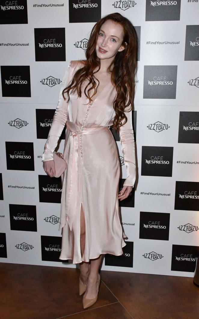 Olivia Grant - Nespresso Launch Party in London