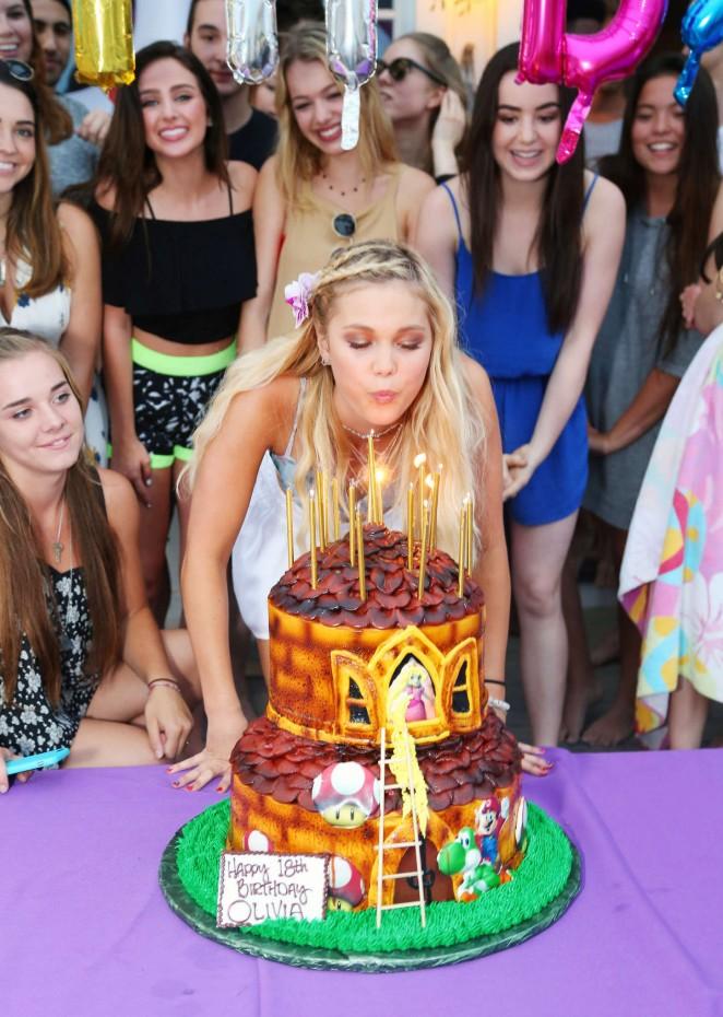 Olivia Holt 18th Birthday Party 18