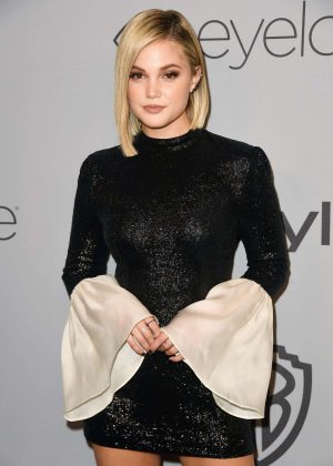 Olivia Holt - 2018 InStyle and Warner Bros Golden Globes After Party in LA