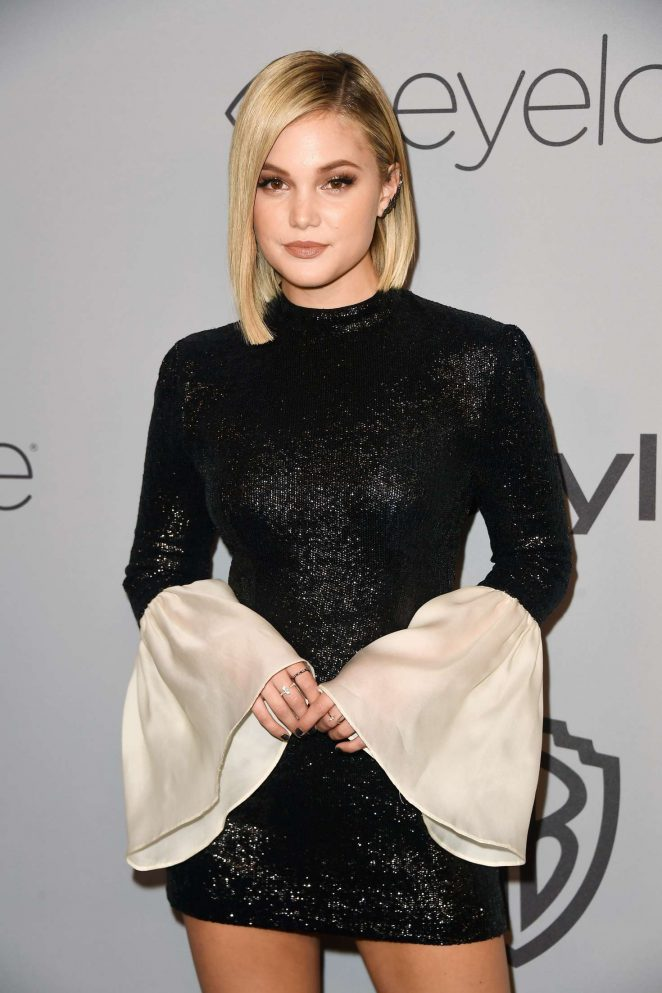 Olivia Holt – 2018 InStyle and Warner Bros Golden Globes After Party in LA